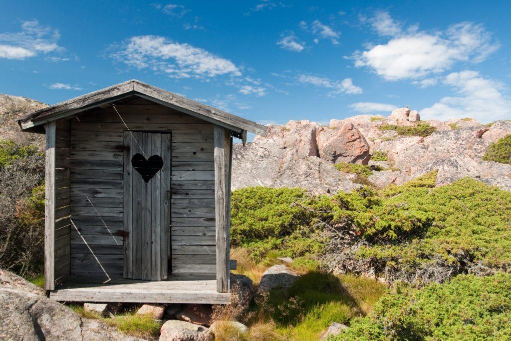 Your privacy - Remote hut