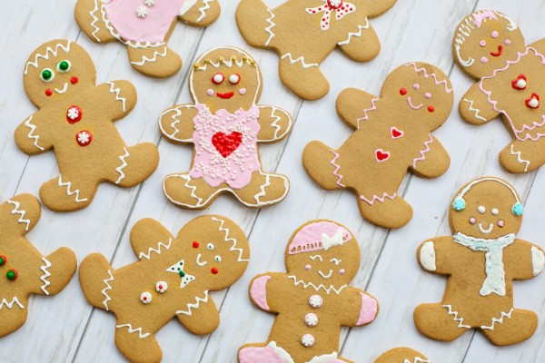 For everyone - Gingerbread people